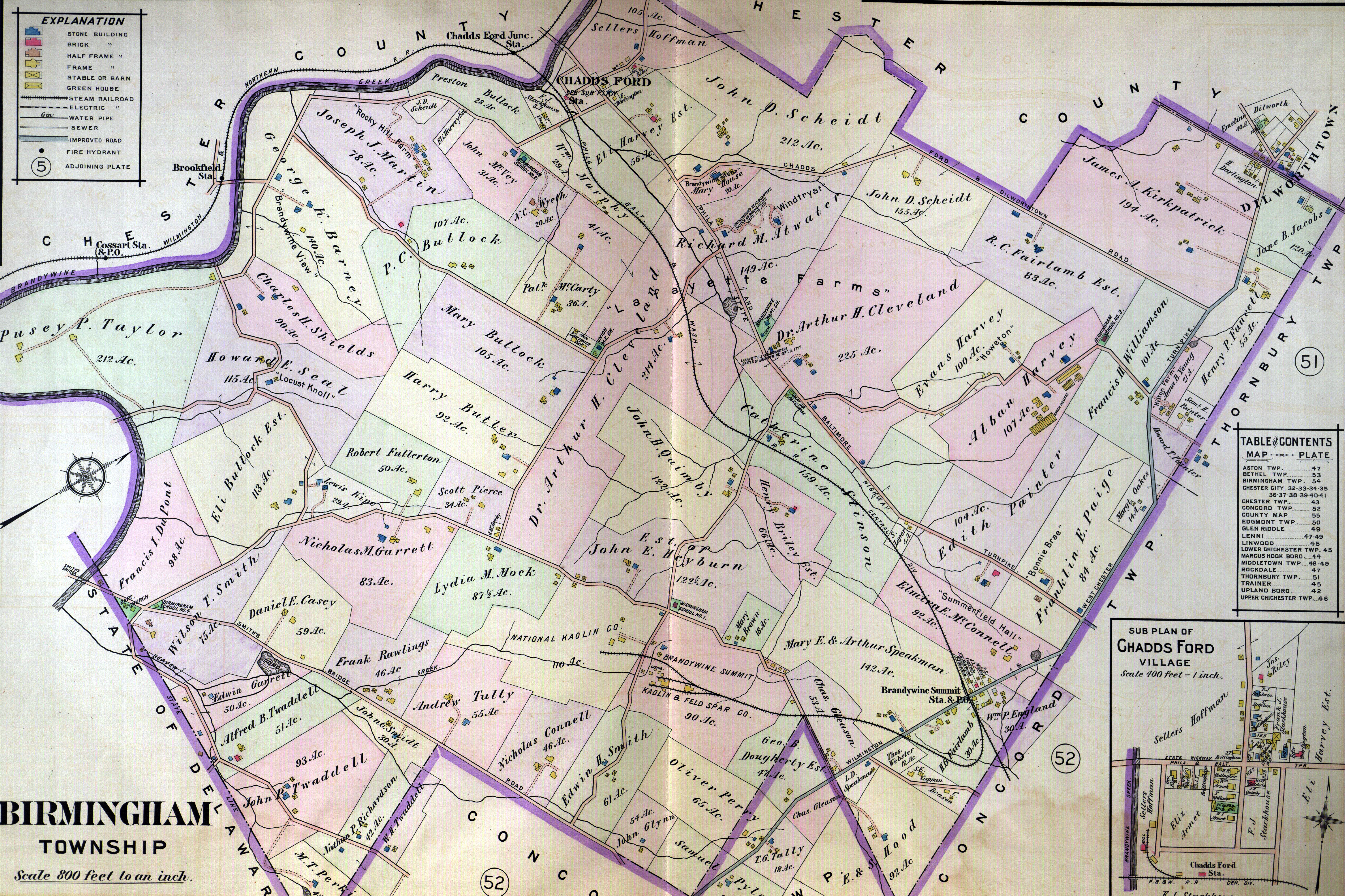 1911 Atlas Welcome to Delaware County PA